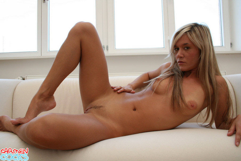 posing Carmen nude cocks