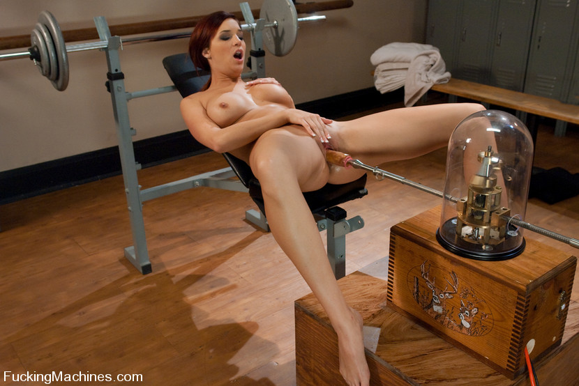 Her first painful dildo