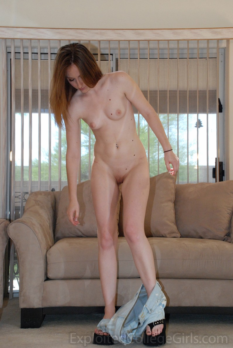 girl Sexy redhead money college needs