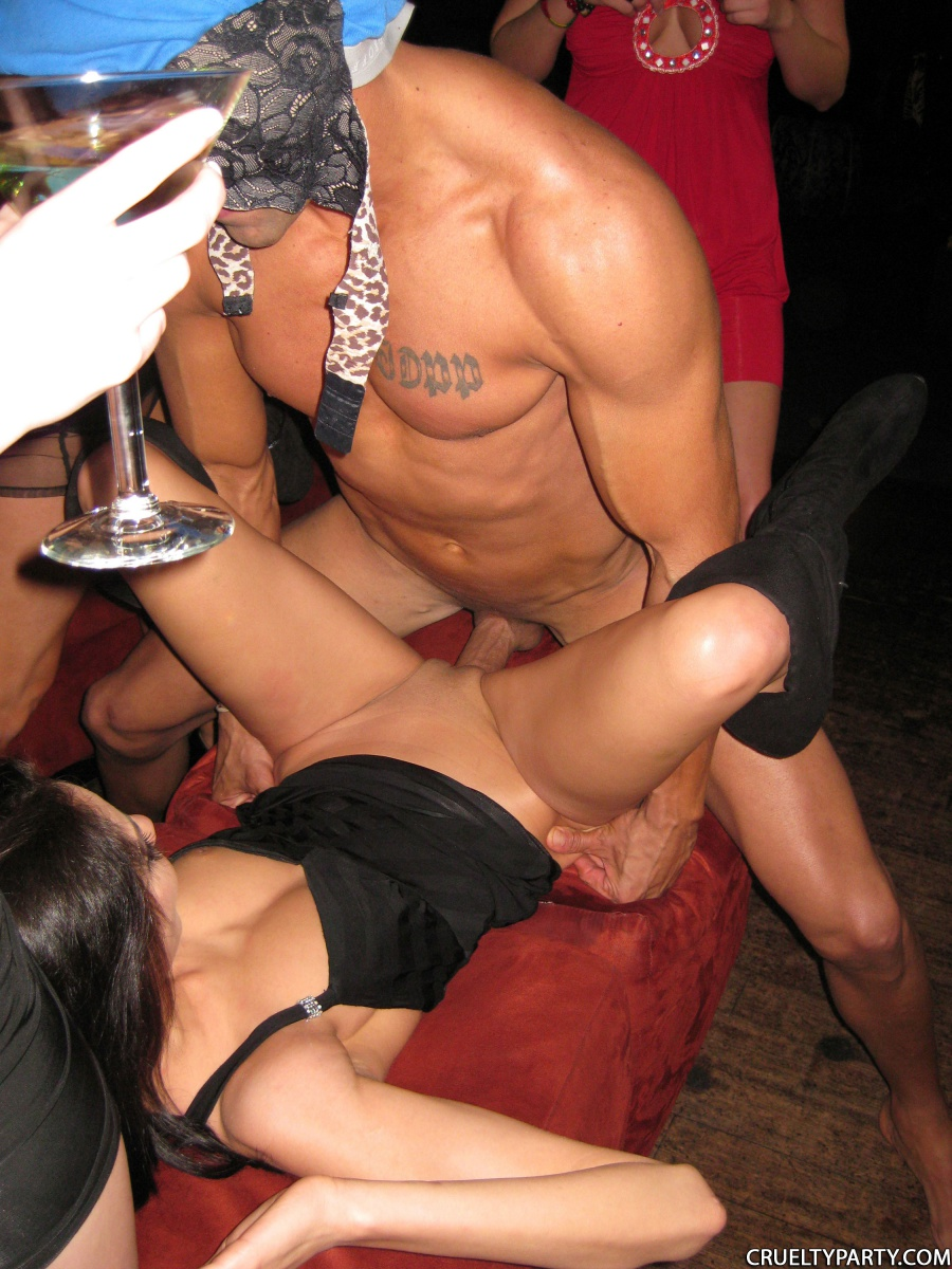 Male strippers real party
