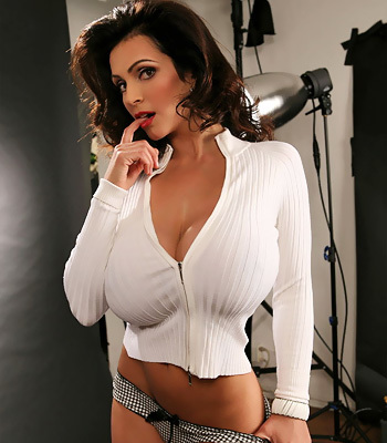 Denise milani shows boobs