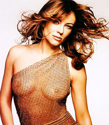 Elizabeth Hurley has the graceful good looks that we've all come to ...