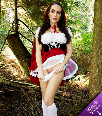 Katie Banks as Little Red Riding Hood