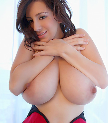 Busty Red Beauty