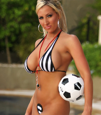 Wild Amaginations soccer blonde