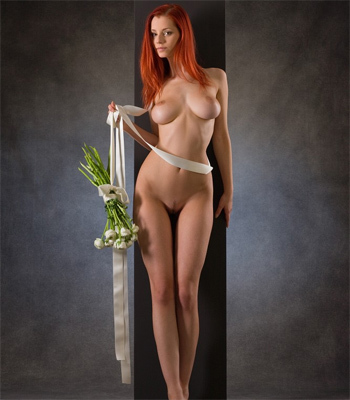 Ariel with flower for Femjoy