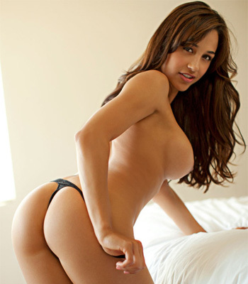 Playboy presents a hot collection of photos of gorgeous Latina Ana Cheri as ...