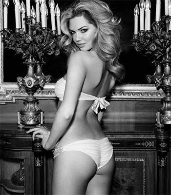 Kate Upton black and white