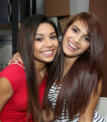Giselle Mona and Serena Torres