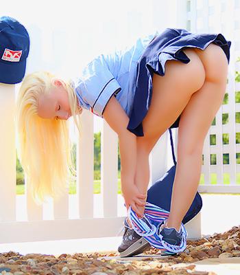 Sexy pattycake mailwoman