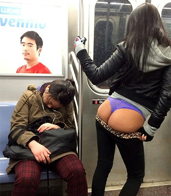 Subway ass