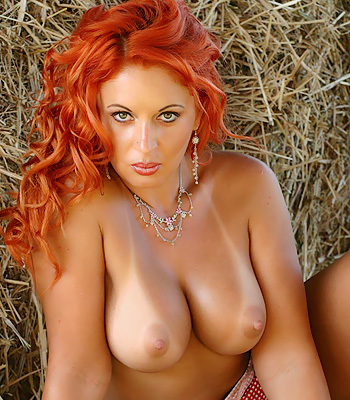 women of penthouse with red hair nude