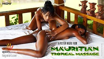 Mauritian Tropical Massage Hegre Art