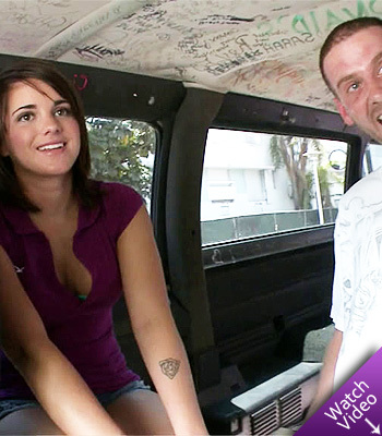 Shawna Hill on Bang Bus