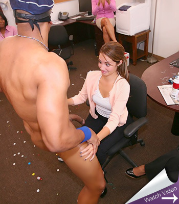 Office Party Cock Massacare Dancing Bear