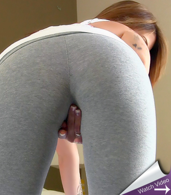 Hailey Leigh Grey Yoga Pants