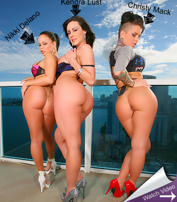 Christy Mack, Nikki Delano and Kendra Lust