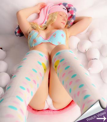 Sexy Pattycake Snow Bunny