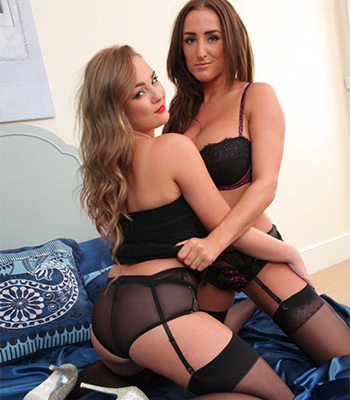 Jodie and Stacey Only Tease