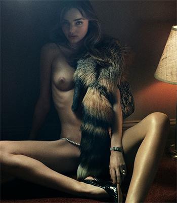 Supermodel fur porn