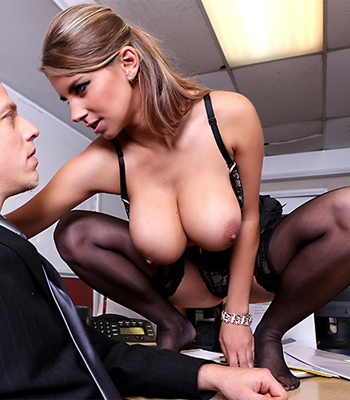 Karterina Hartlova Best Tits In The Office
