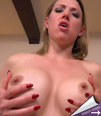 Busty bubbly milf on mom pov