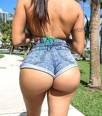 Beautiful Round Ass of Julianna Vega